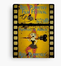 Reel Puppetry 2017 Logo Canvas Print