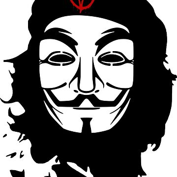Che Guevara Anonymous by LAFLAME
