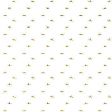 Lebron James Pattern - White Text Black Background by charisdillon