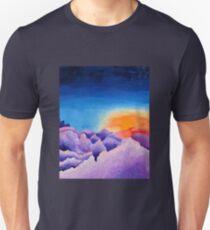 Majestic Purple Mountains Unisex T-Shirt