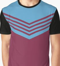 West Ham United 1976 Home Shirt Graphic T-Shirt