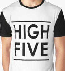 HIGH FIVE (LeoVeo's Favourite) Graphic T-Shirt