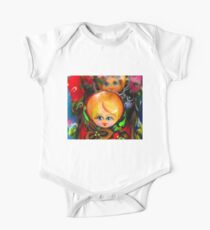 Blond Haired-Blue Eyed Matryoshka Doll Kids Clothes
