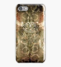 Earthy Bison Skull iPhone Case/Skin