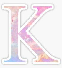 Kappa K Cotton Candy Galaxy Sticker