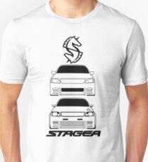Nissan Stagea 260RS Black Modified T-Shirt