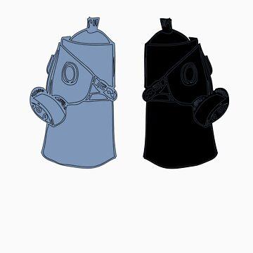 Respirator Can  by jmenszta