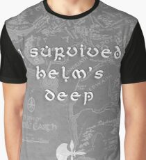 I Survived Helm's Deep Graphic T-Shirt