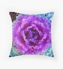 flower plant big Throw Pillow