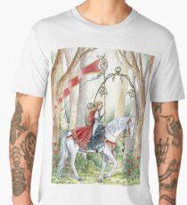 Rose Unicorn Maiden Men's Premium T-Shirt