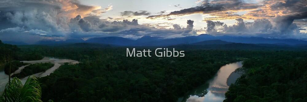 Sunset at Shangri La  by Matt Gibbs