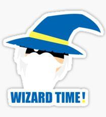 WIZARD TIME! Sticker