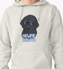 NEWFIE SQUAD (black) Pullover Hoodie