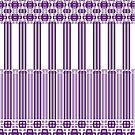 Beautiful Purple Line Range by Joy Watson