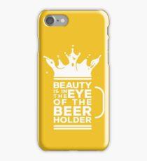 BEER HOLDER iPhone Case/Skin