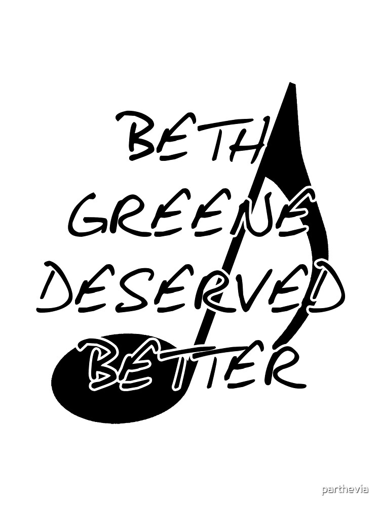 Beth Greene Deserved Better by parthevia