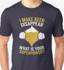 BEER SHIRT MY SUPERPOWER I LOVE BEER APPAREL T-Shirt