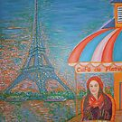 Red Beret in Paris by Vincent Loverso