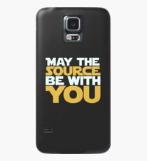 May The Source Be With You Case/Skin for Samsung Galaxy