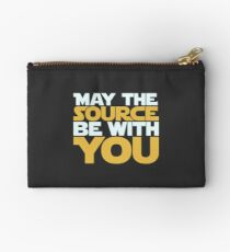 May The Source Be With You Studio Pouch