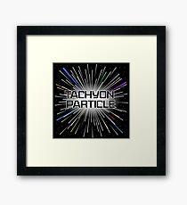 Tachyon Particle Framed Print
