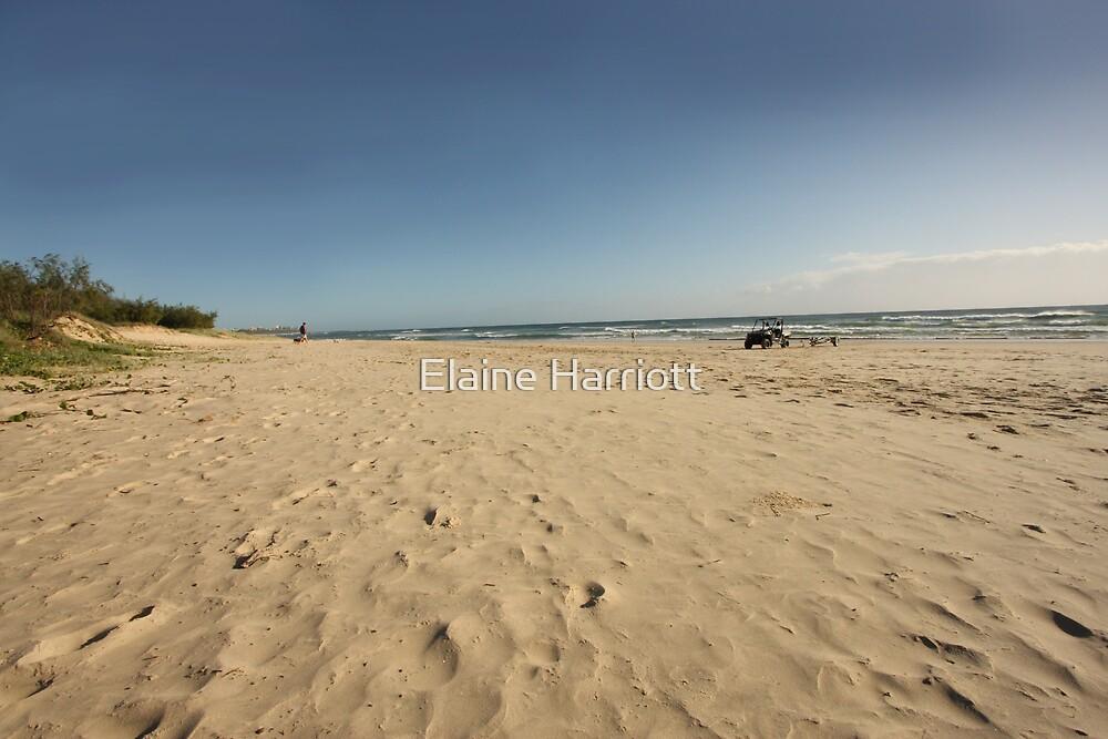 Beach patterns by Elaine Harriott