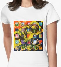 Postmoderism 09 Womens Fitted T-Shirt