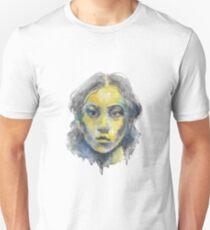 Watercolor Face Unisex T-Shirt