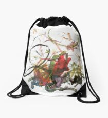April Cow no.7 Drawstring Bag