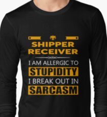 SHIPPER RECEIVER - SARCASM TEES AND HOODIE Long Sleeve T-Shirt