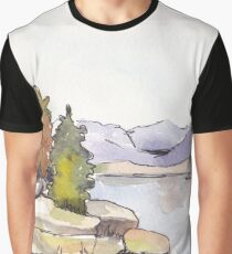 Just another lake Graphic T-Shirt
