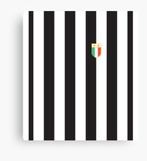 Juventus 1984 Home Shirt Canvas Print
