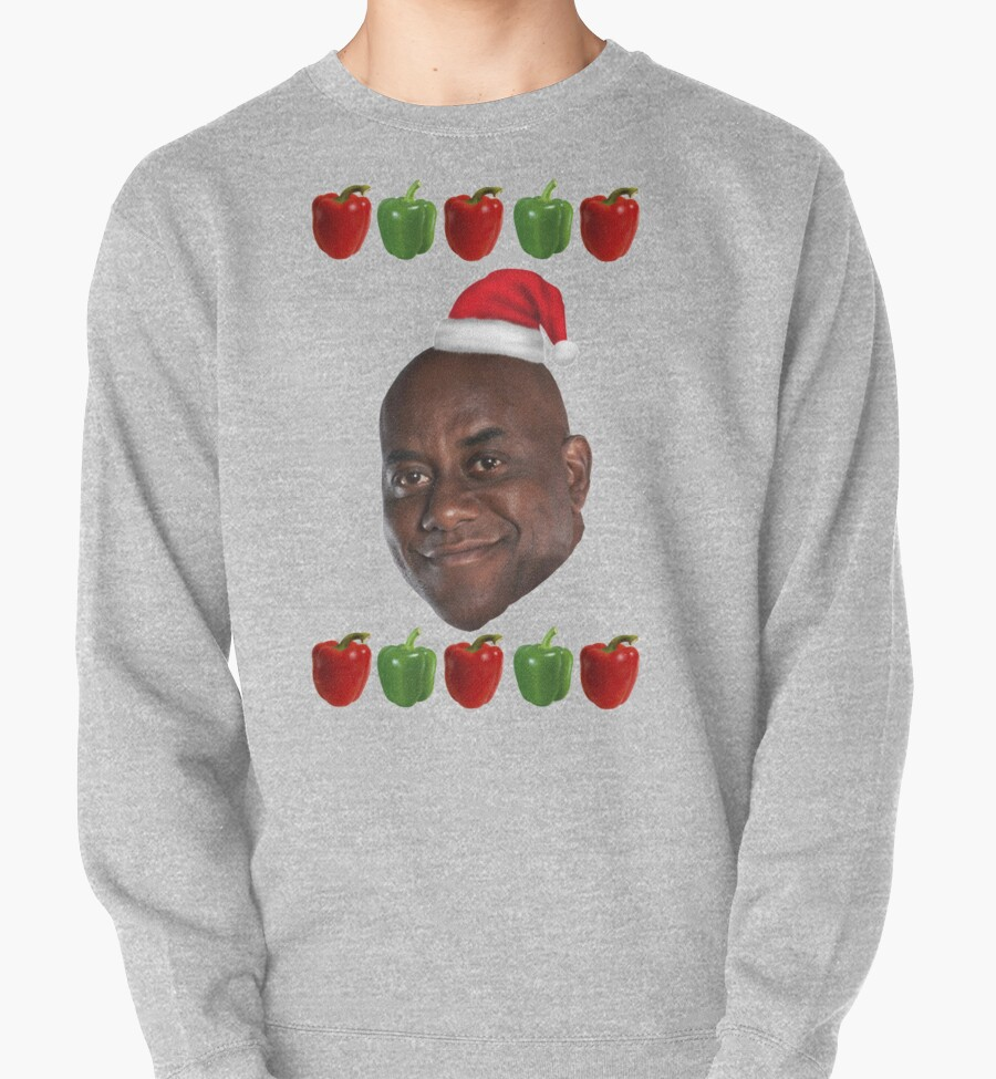 """""""The Ainsley Harriott Christmas Jumper"""" Pullovers by ..."""