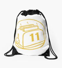 Golden Toast Warriors - clean Drawstring Bag