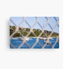 Don't fence me in Canvas Print