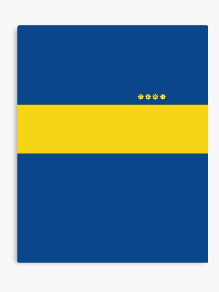 huge discount 788c4 22d2b Boca Juniors 1981 Home Shirt   Canvas Print