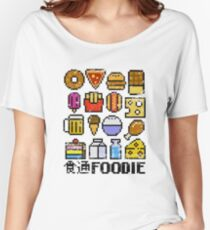 8 bit Foodie Women's Relaxed Fit T-Shirt
