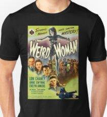 Weird Woman, vintage horror movie poster Unisex T-Shirt