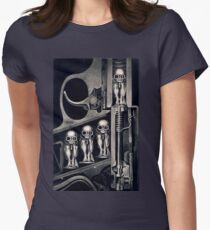 Giger Birth Machine T-shirt Women's Fitted T-Shirt