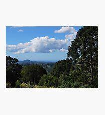 Flaxton and northward Photographic Print