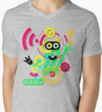 illustration. Hipster. Hand drawn Crazy doodle cute.  T-Shirt