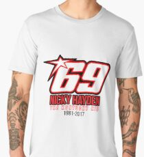 RIP Nicky hayden - Tribute To Nicky Hayden Men's Premium T-Shirt