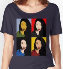 FUNNY GIRL! - POP ART 4 Women's Relaxed Fit T-Shirt