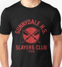 Sunnydale high school Buffy Slayers Club t-shirts T-Shirt