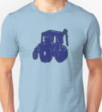 TRACTOR BLUE no text T-Shirt