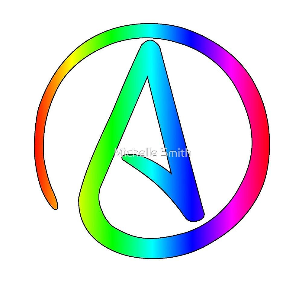 Rainbow Atheist by Zoey Underwood