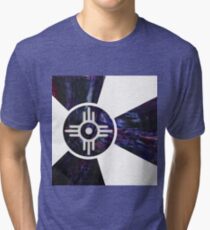 Wichita Flag IV of X Tri-blend T-Shirt