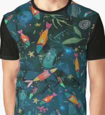 Amazing Reef Fish Graphic T-Shirt