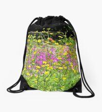 Buttercups Galore Drawstring Bag