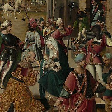 Adoration of the Magi: Jacob Cornelisz van Oostsanen by medievalpoc